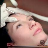 aplicação de botox entre as sobrancelhas Perdizes