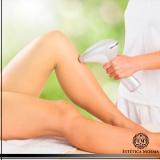 custo de depilação de perna inteira Aclimação