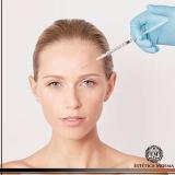 lugar para aplicação de botox entre as sobrancelhas Itaim Bibi