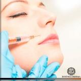 lugar para aplicação de botox no rosto Perdizes